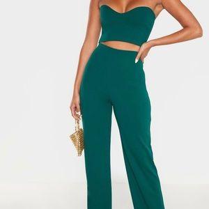 Emerald Green Pant Set